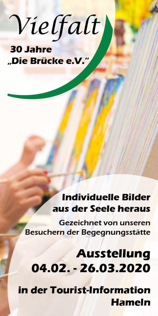 Die Brücke - Flyer - Ausstellung