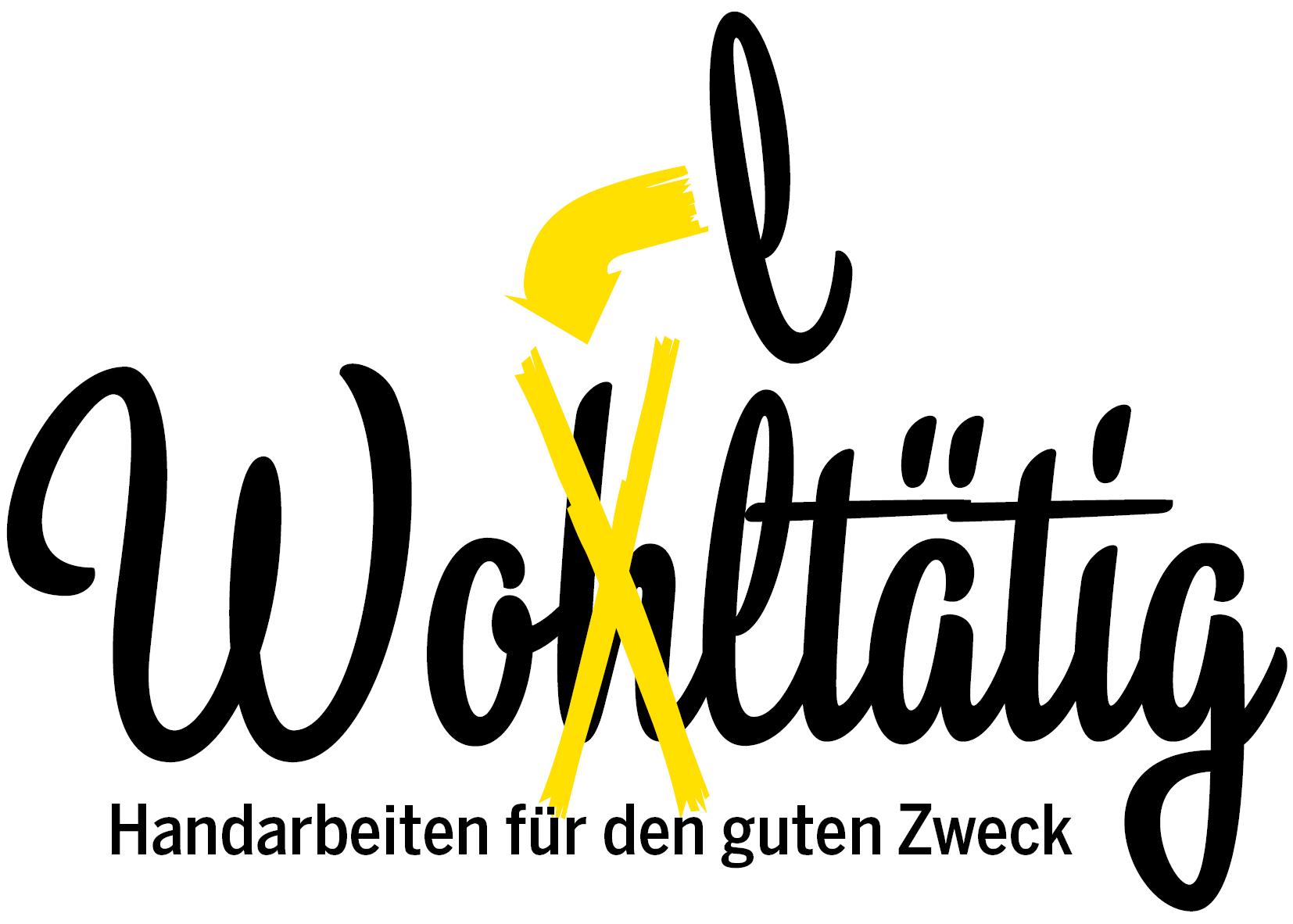 Wolltaetig Logo